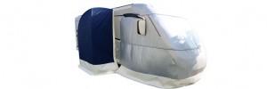 Larcos Overcoat blocca il freddo prima che entri in cabina