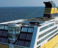 Salpa la Freccia Gialla di Elba Ferries