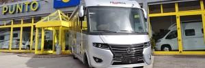 Il nuovo Frankia Platin I 8400 QD star d'eccellenza da Punto Camper