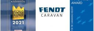 Incetta di premi per le caravan Fendt