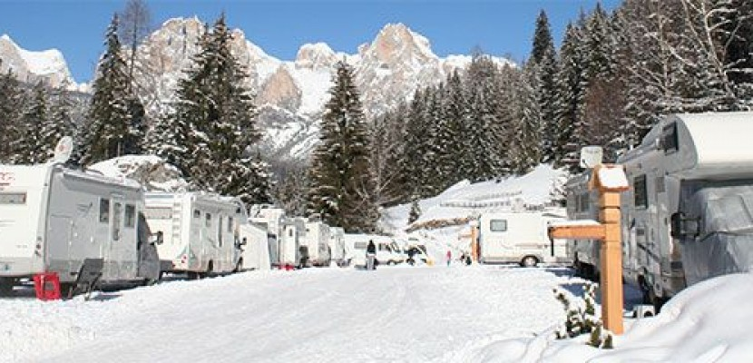Dicembre al Camping Vidor